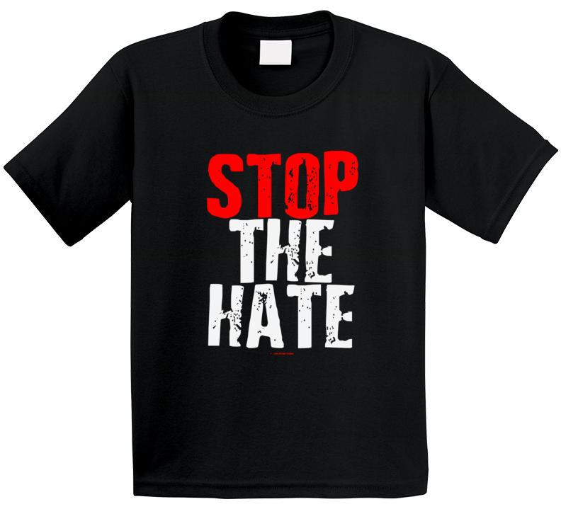 Stop The Hate Black Asian Latin Color Lives Matter Gift Cold Springs Designs T Shirt