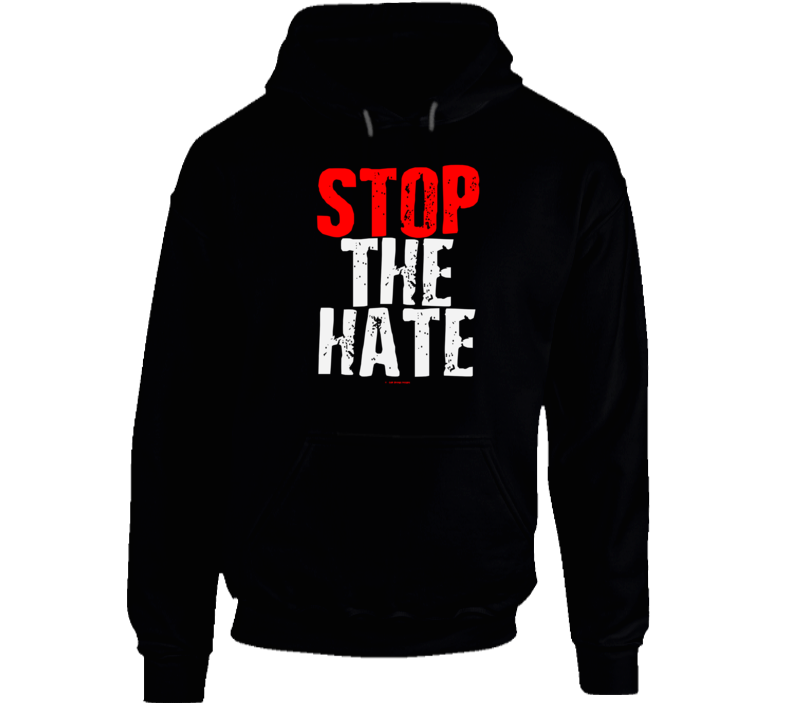 Stop The Hate Black Asian Latin Color Lives Matter Gift Cold Springs Designs Hoodie
