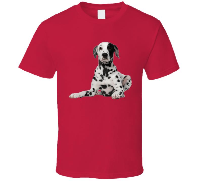 Dalmation Dog Spot Cute Gift Firehouse T Shirt