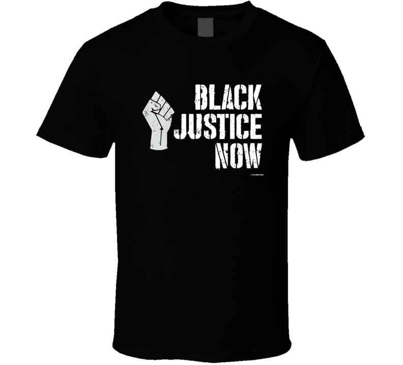 Black Justice Now Racial Justice Swat Black Lives Gift T Shirt