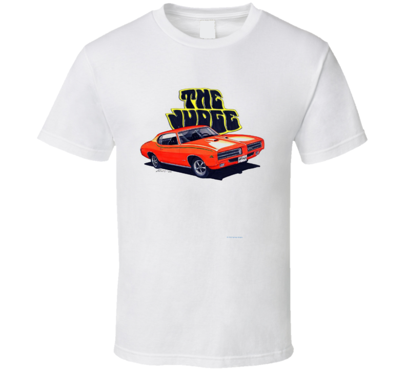 The Judge Goatgto 1970 Musclecar Gift  Hot Rod T Shirt