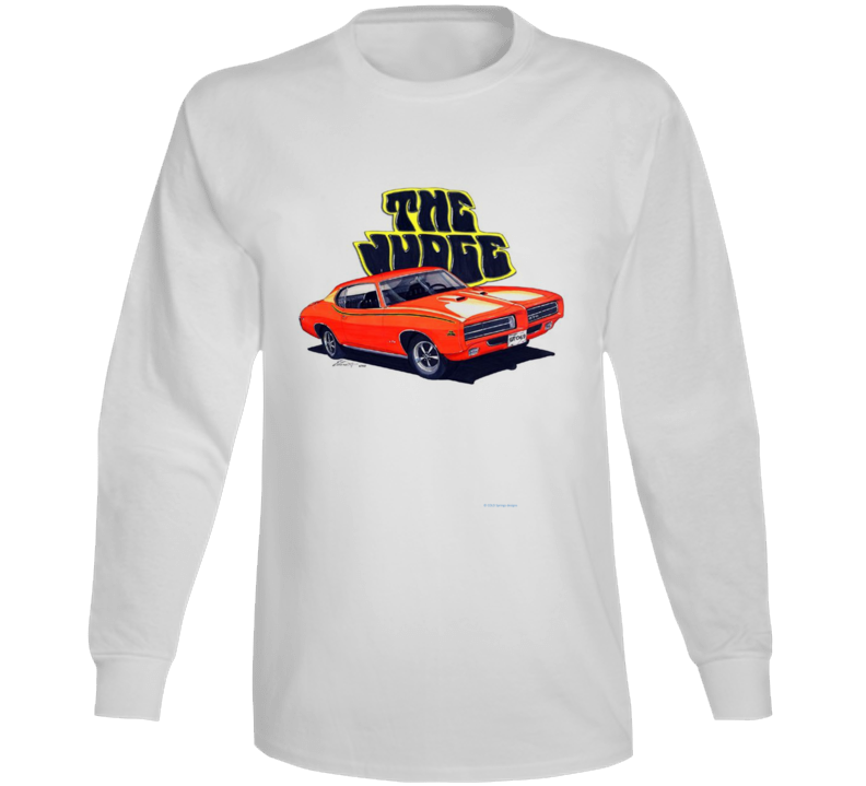 The Judge Goatgto 1970 Musclecar Gift  Hot Rod Long Sleeve T Shirt