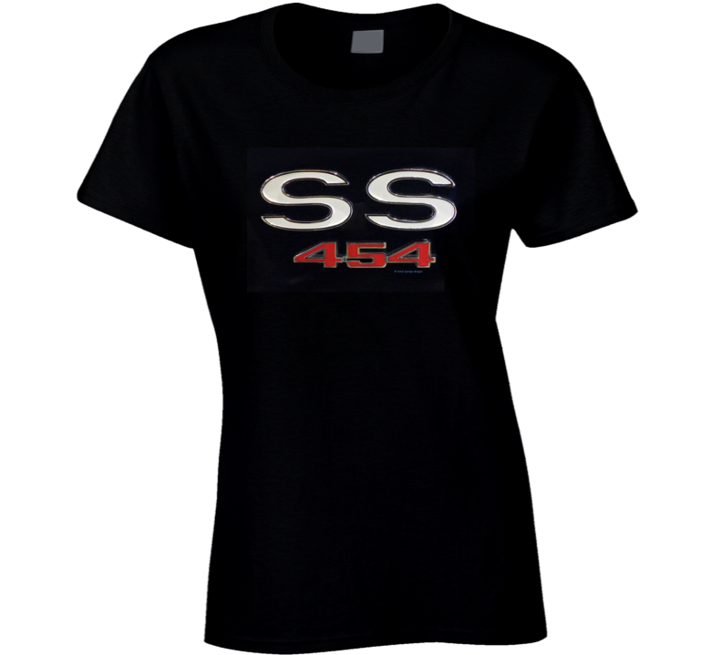 Ss 454 Chevy Musclecar 1970 Chevelle Gift 1969 Ladies T Shirt