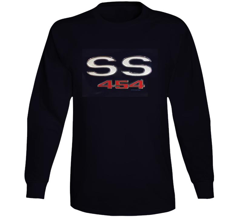 Ss 454 Chevy Musclecar 1970 Chevelle Gift 1969 Long Sleeve T Shirt