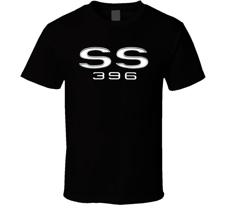 Ss 396 Chevell Chevy Musclecar 1969 Gift Race Car Big Block T Shirt