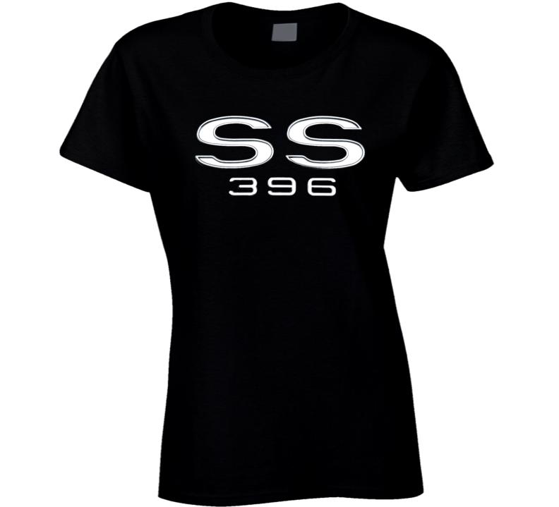 Ss 396 Chevell Chevy Musclecar 1969 Gift Race Car Big Block Ladies T Shirt