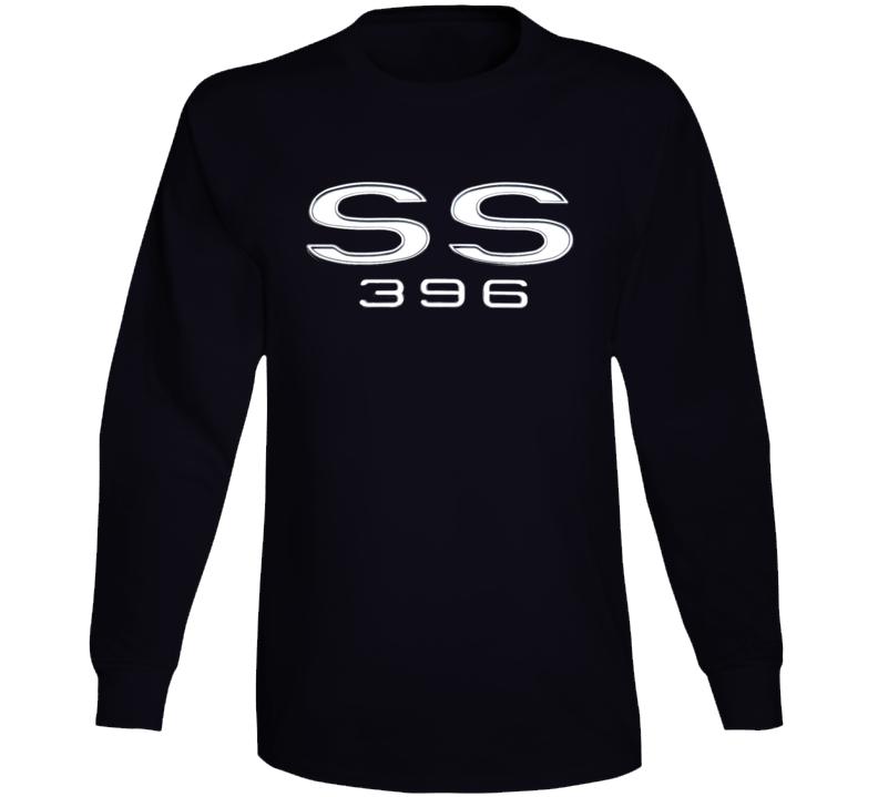 Ss 396 Chevell Chevy Musclecar 1969 Gift Race Car Big Block Long Sleeve T Shirt