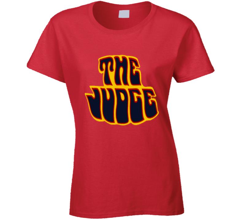 The Judge 1970 Goatgto Musclecar Gift Ladies T Shirt