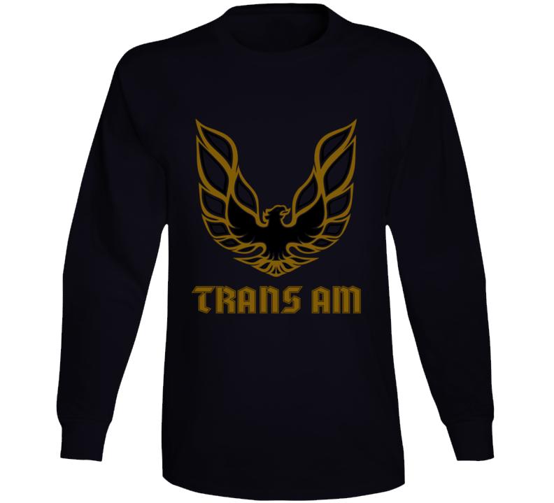1978 Transam Eagle Fire Bird Gift Bandit Hood Musclecar Long Sleeve T Shirt