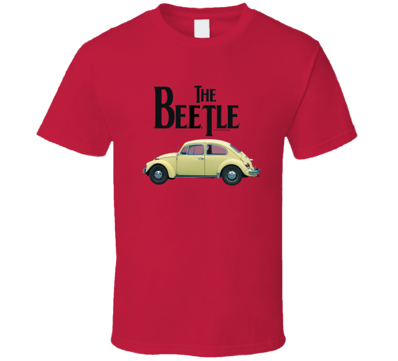 The Beetle Classic German Automobile Gift Vintage Car T Shirt