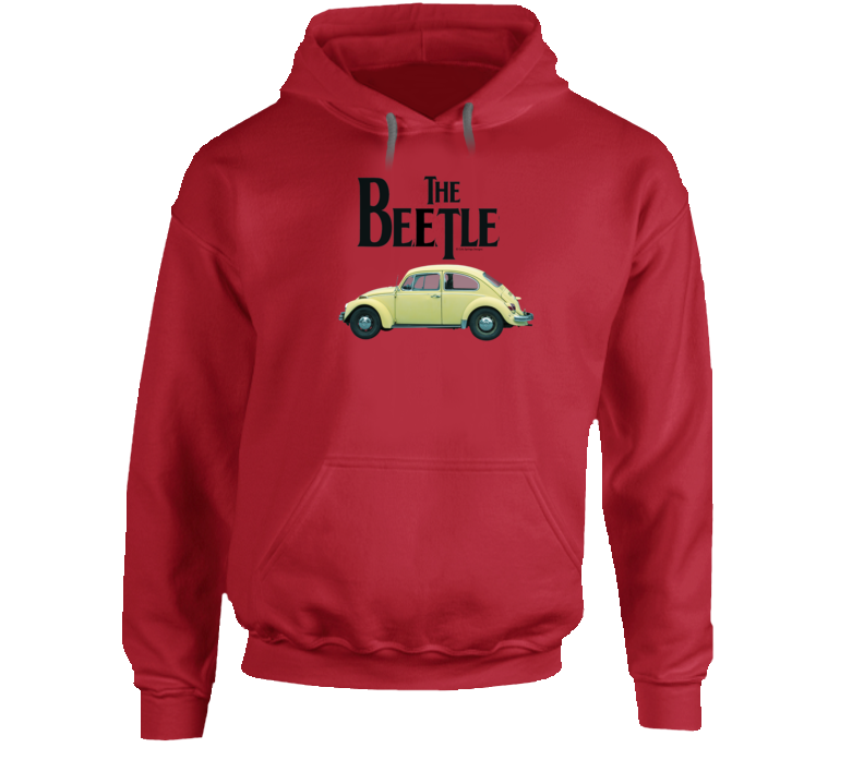 The Beetle Classic German Automobile Gift Vintage Car Hoodie