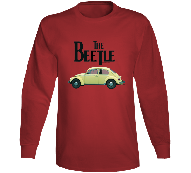 The Beetle Classic German Automobile Gift Vintage Car Long Sleeve T Shirt