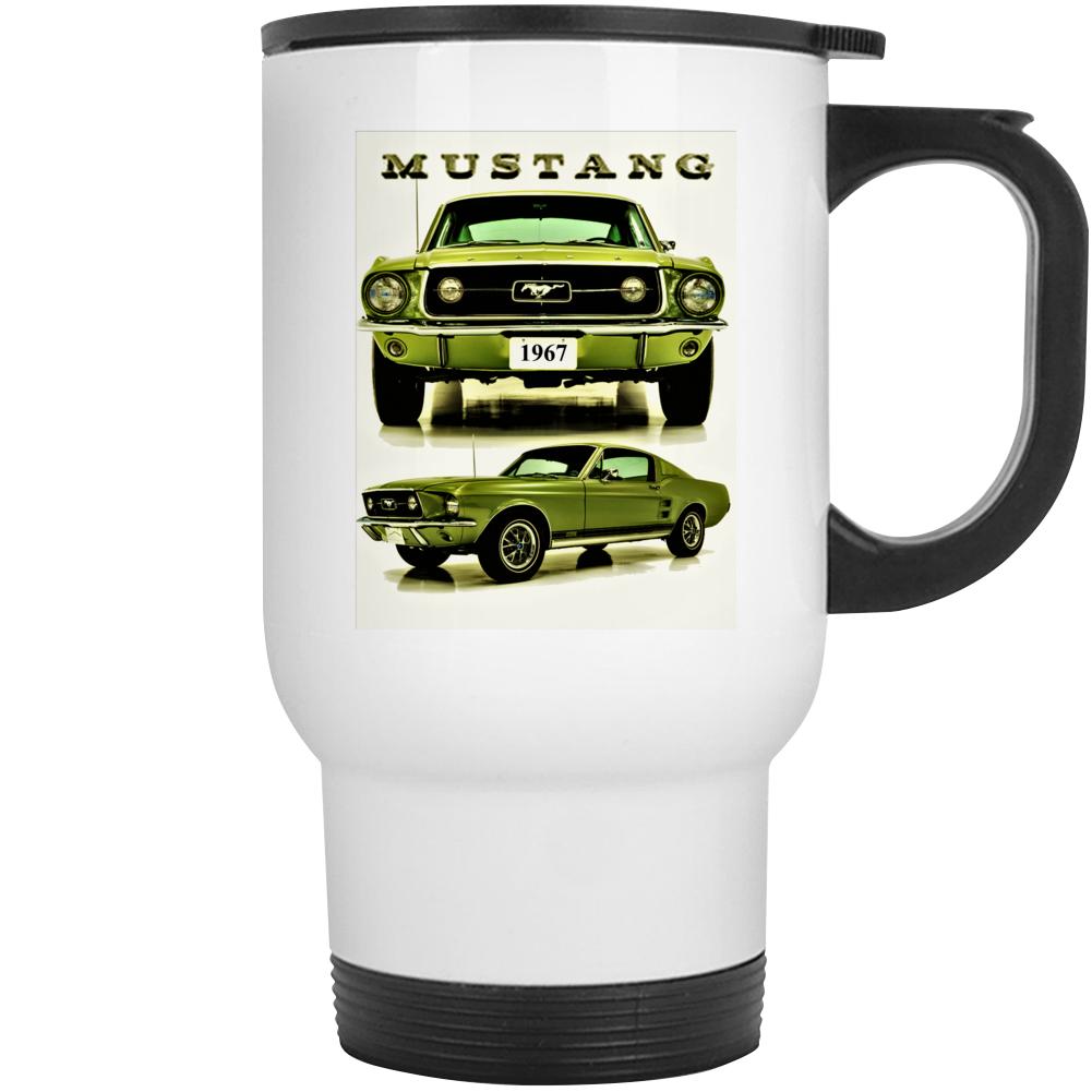 1967 Mustang Gt Fastback 2+2 Musclecar Gift Mug Mug