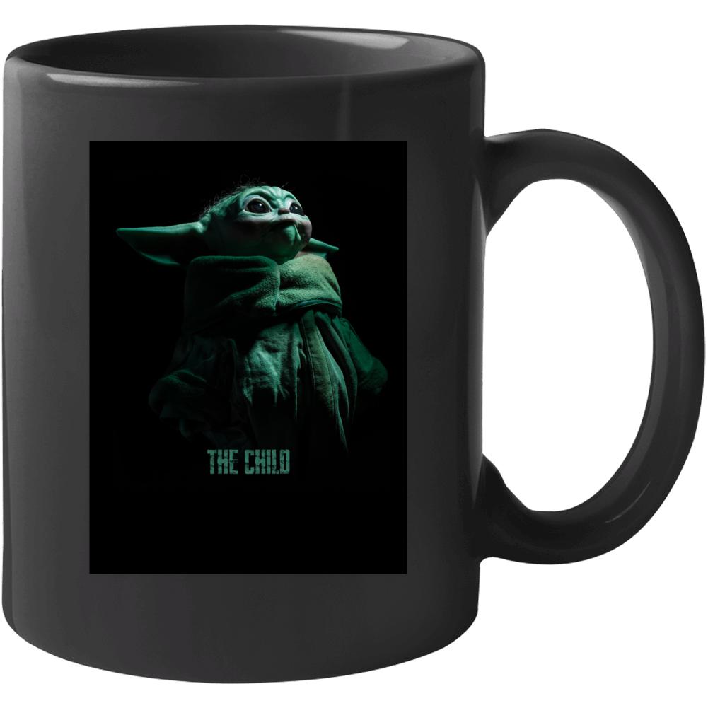 The Child Grogu Baby Yoda The Mandalorian Gift Star Wars Mug