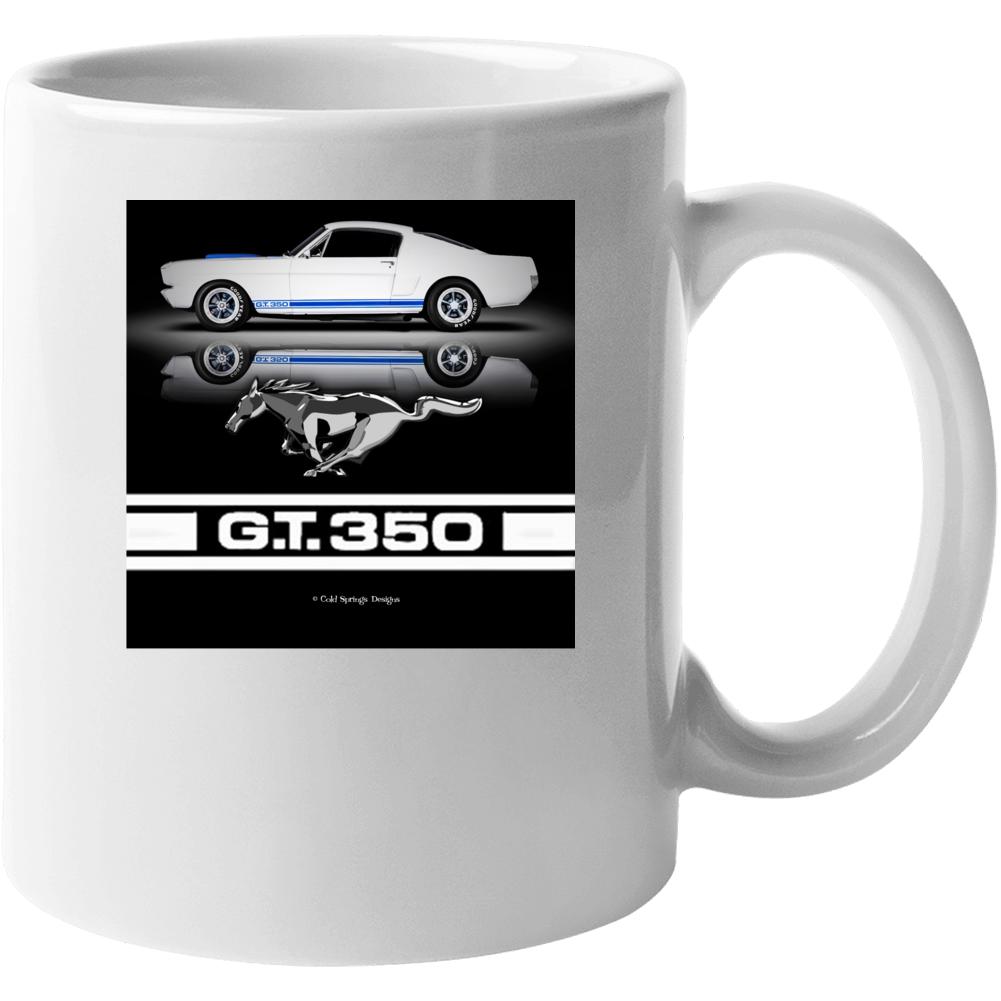 1965 Ford Mustang Shelby Gt350 Musclecar  Gift Mug