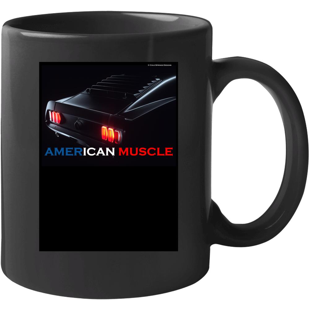 American Muscle 1969 Mustang Fastback Tail Lights Gift Mug