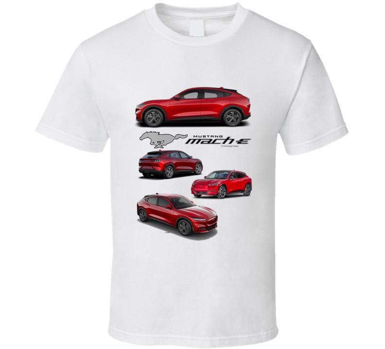 2021 Electric Mustang Mach E New  T Shirt