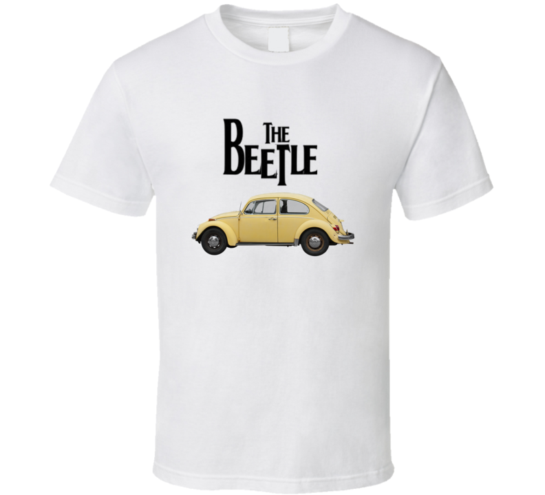The Beetle Car Classic Bug  German 60's Gift T Shirt