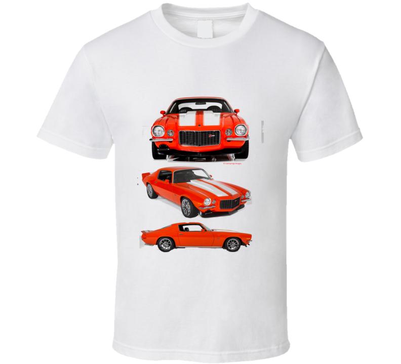 Chevy Camaro Musclecar Big Block Hot Rod Gift T Shirt