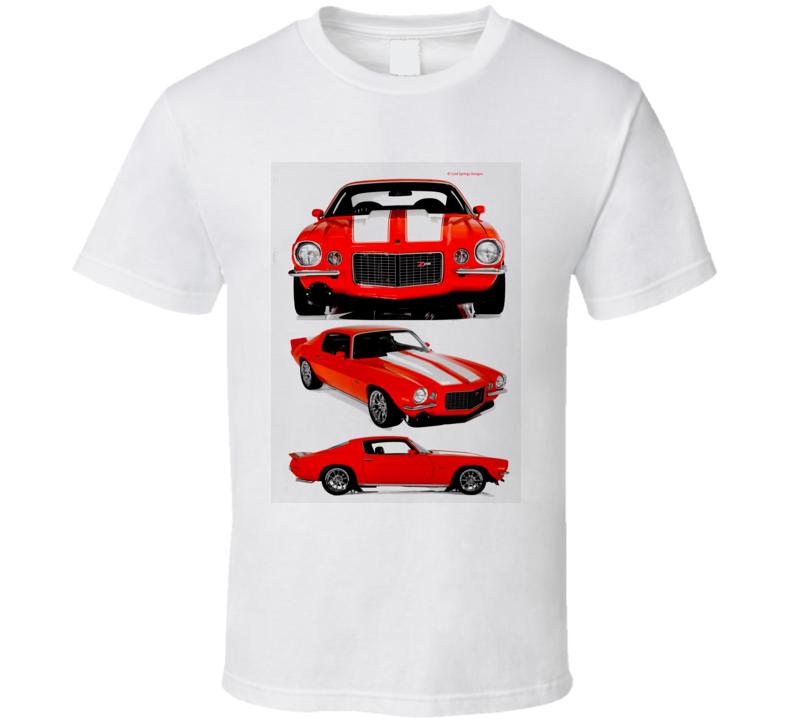 Chevy Camaro Musclecar Hot Rod Classic Gift T Shirt