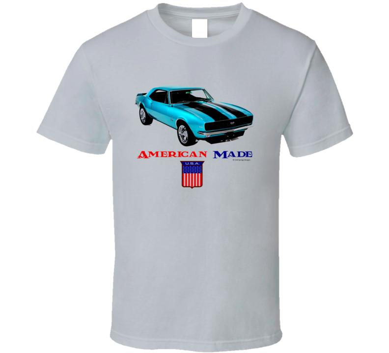 American Made Camaro1969 Muscle Car Classic Gift T Shirt