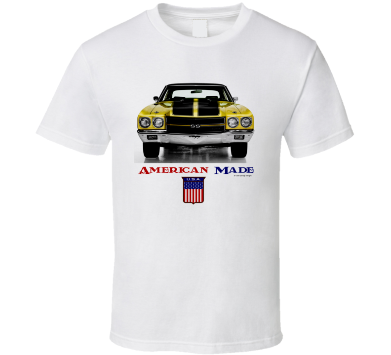 American Made 1970chevelle Muscle Car Classic Gift T Shirt