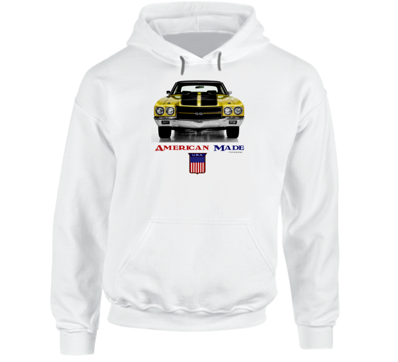 American Made 1970chevelle Muscle Car Classic Gift Hoodie