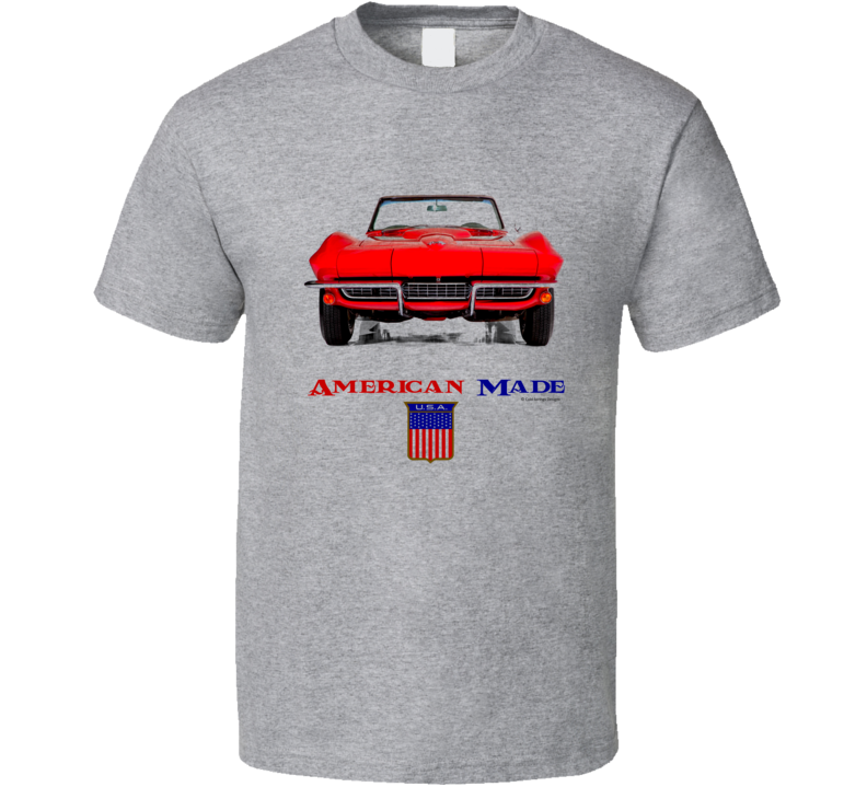 American Made C2 Vette Muscle Car Classic Gift T Shirt