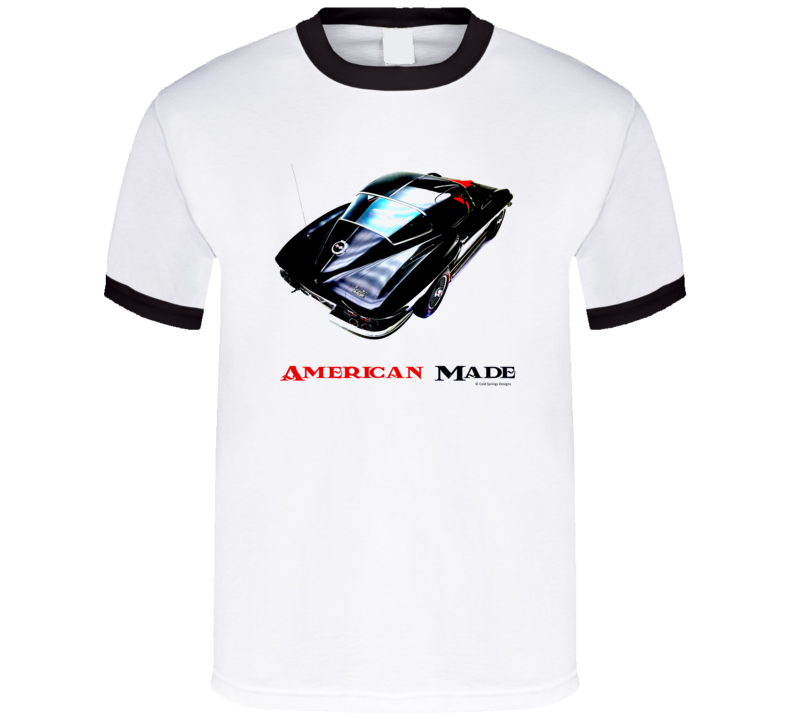 American Made 1964 Vette Muscle Car Classic Gift T Shirt