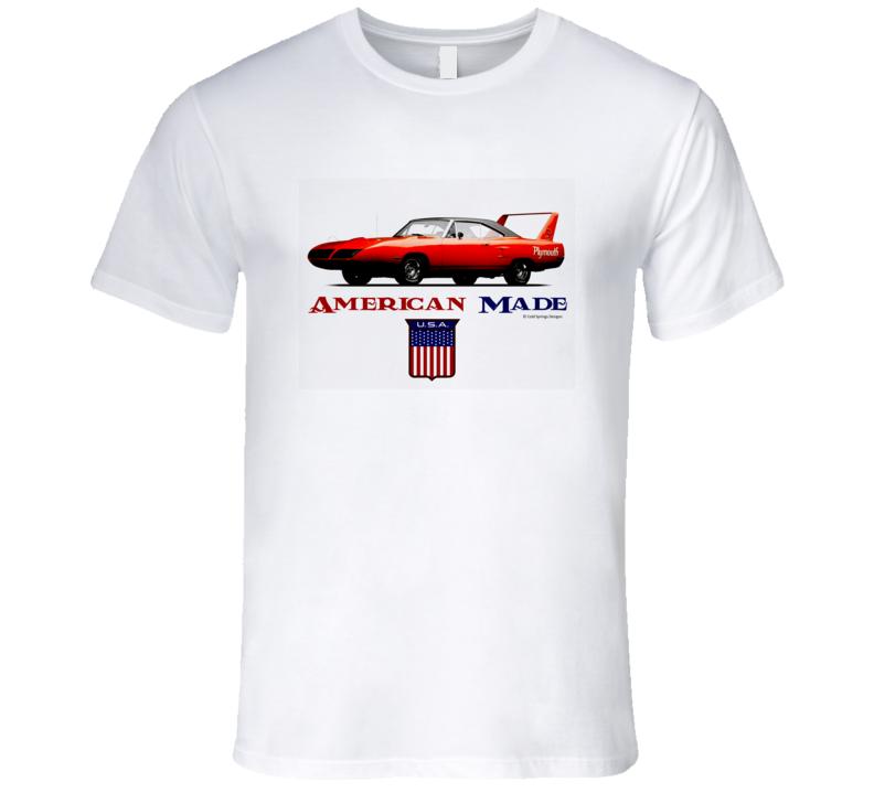 American Made Super Bird Musclecar Classic Premium Gift T Shirt