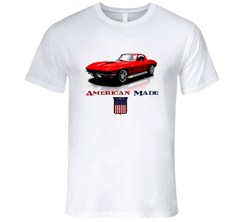 American Made 64 Vette Musclecar Premium Gift Classic T Shirt