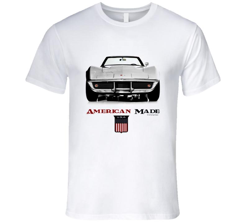 American Made Chevy Vette C3 Musclecar Premium Gift T Shirt