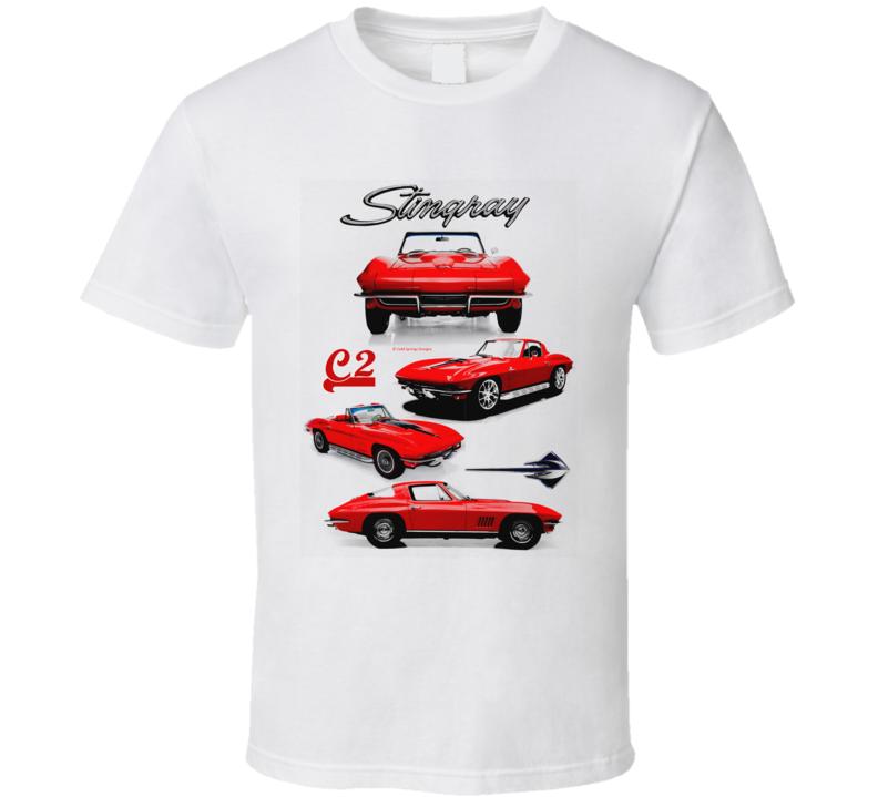 C2stingray Mid Year Vette 63 64 65 6 67 Musclecar Gift T Shirt