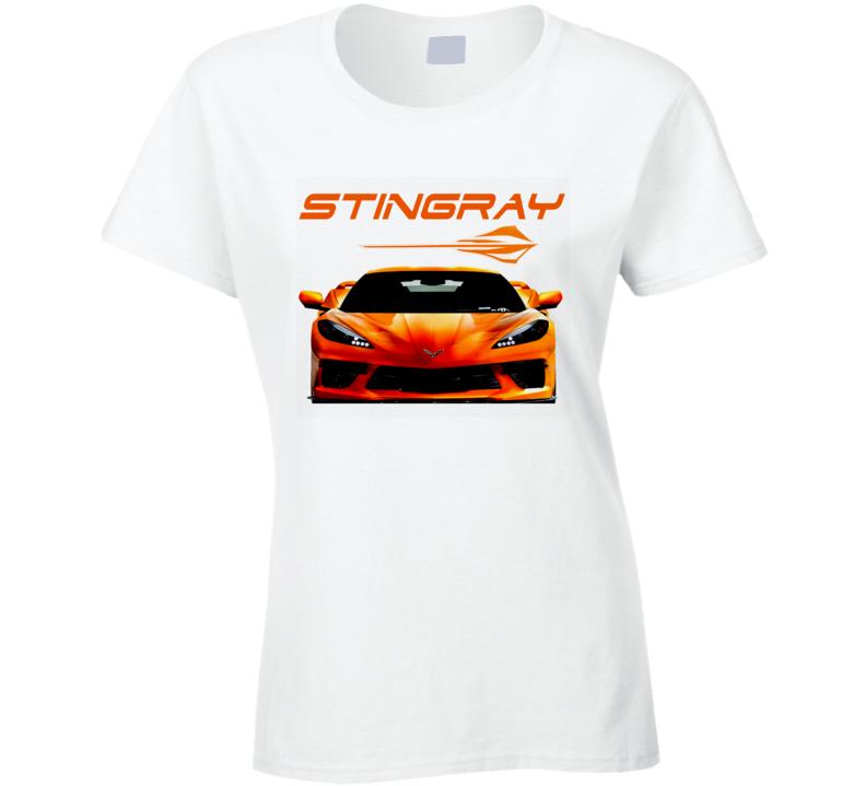 21-22 New Stingray Vette C8 Hot Trending Gift Ladies T Shirt