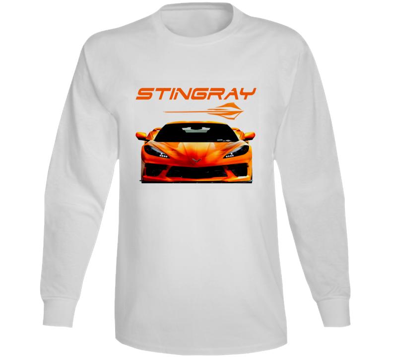 21-22 New Stingray Vette C8 Hot Trending Gift Long Sleeve T Shirt