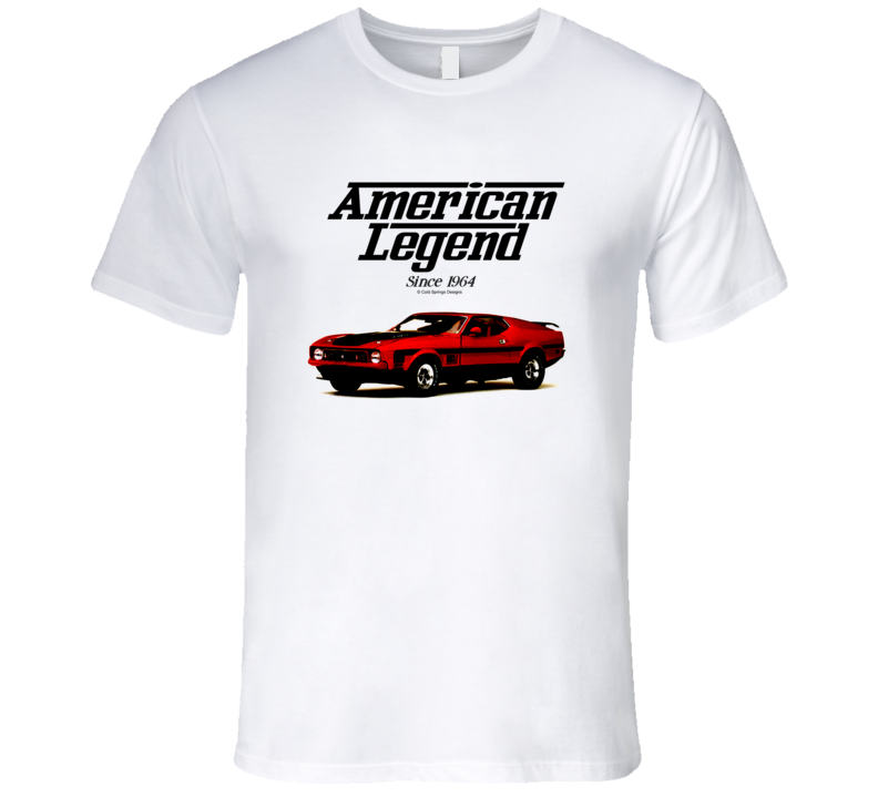 1972 Mustang Mach One American Legend Since 1964 Premium Gift T Shirt
