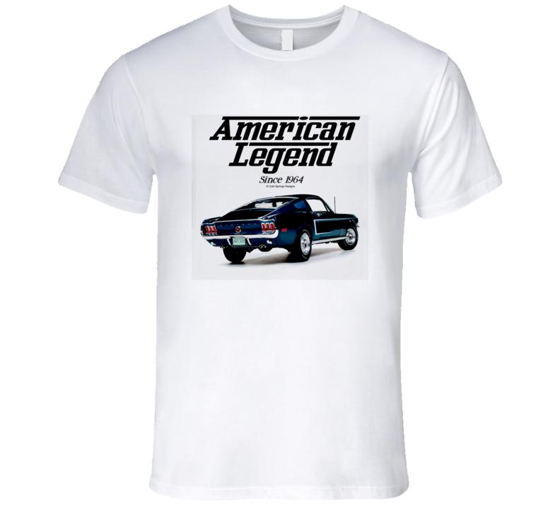 1968 Mustang Fastback American Legend Since 1964 Premium Gift T Shirt