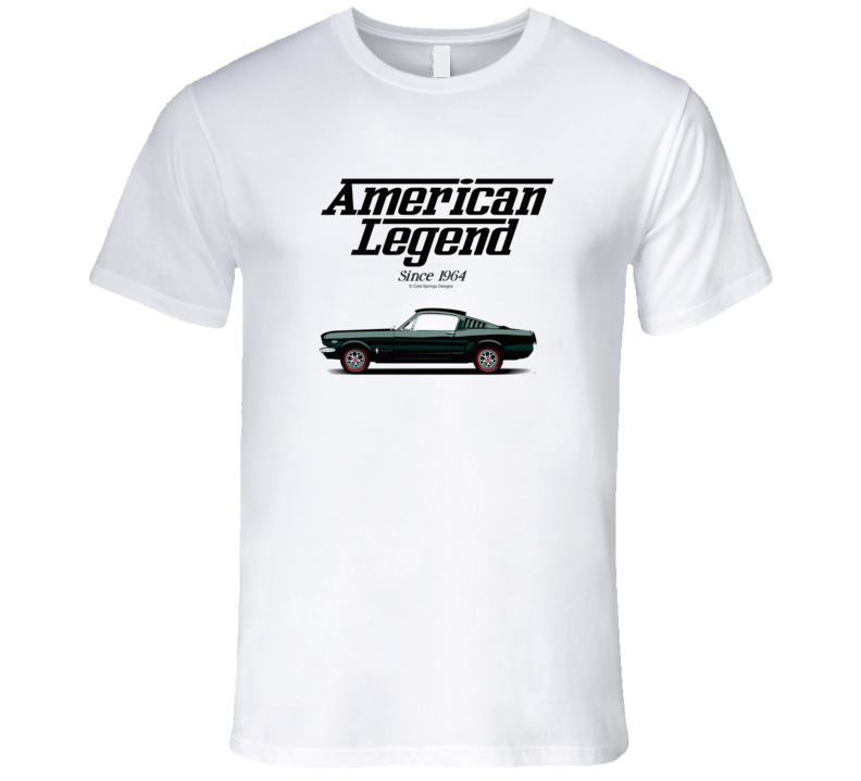 1965 Mustang Fastback American Legend Since 1964 Premium Gift T Shirt