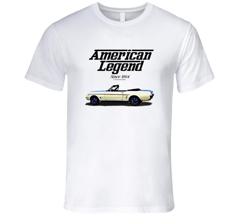1964 Mustang Convertible American Legend Since 1964 Premium Gift T Shirt