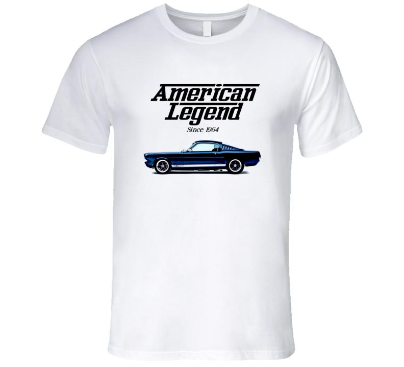 65 Mustang Fastback American Legend Since 1964 Premium Gift T Shirt
