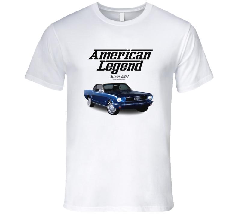65 Mustang Blue American Legend Since 1964 Premium Gift T Shirt