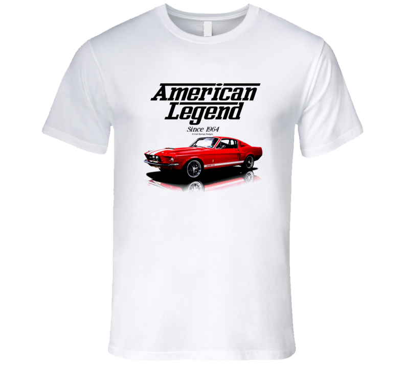 1968 Mustang Fastback Red American Legend Since 1964 Premium Gift T Shirt