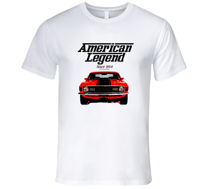 70 Mustang Mach One Front American Legend Since 1964 Premium Gift T Shirt