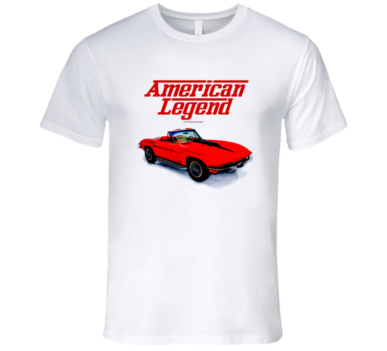 64 Vette C2 Mid Year Roadster American Legend  Premium Gift T Shirt