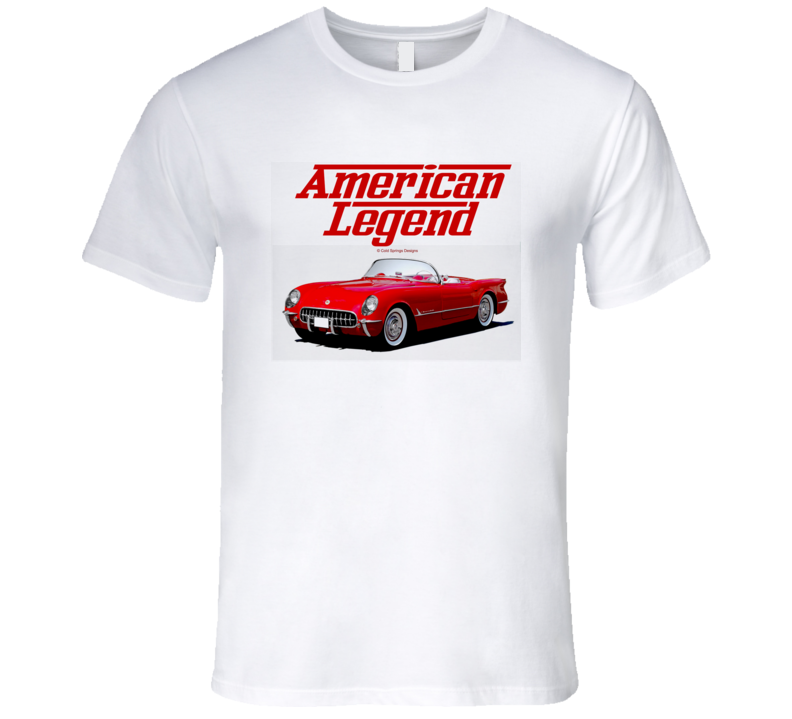 Red Vette C1 American Legend  Premium Gift T Shirt