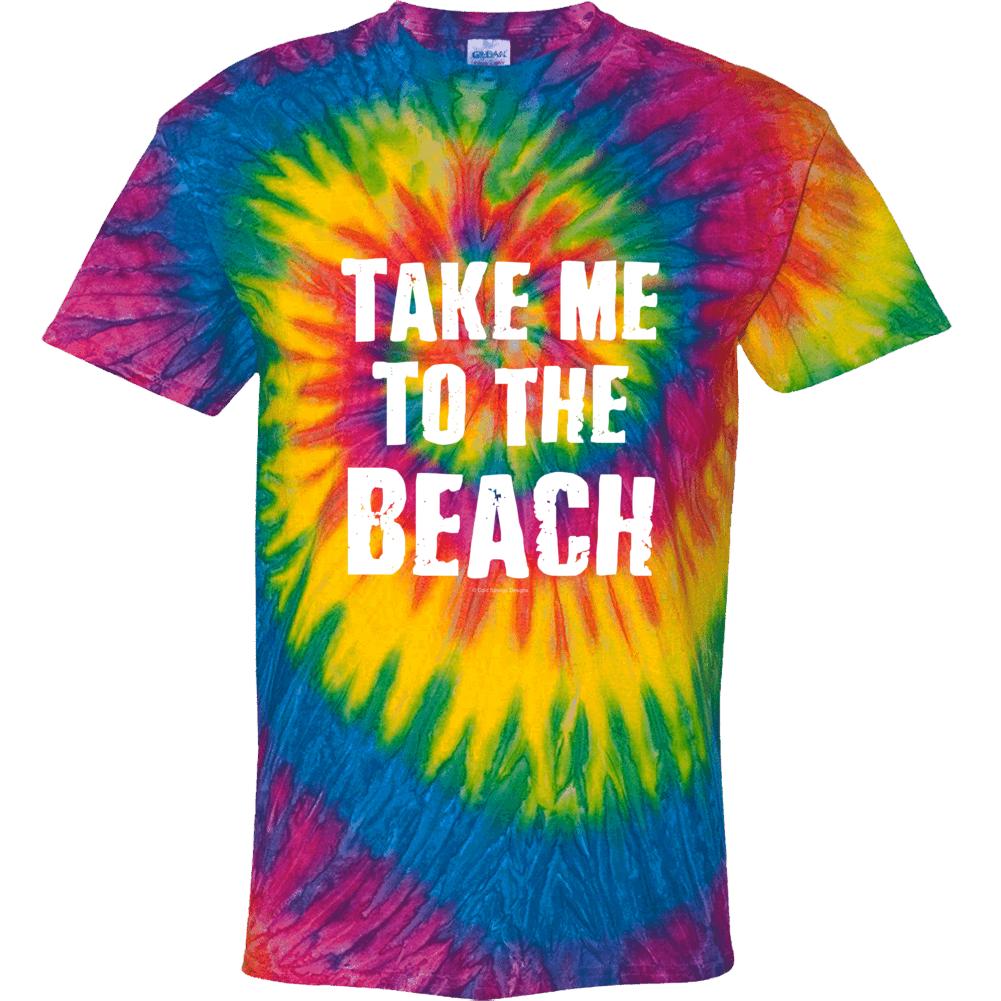 Take Me To The Beach Tie Dye Swirl Rainbow Gift Tie Dye