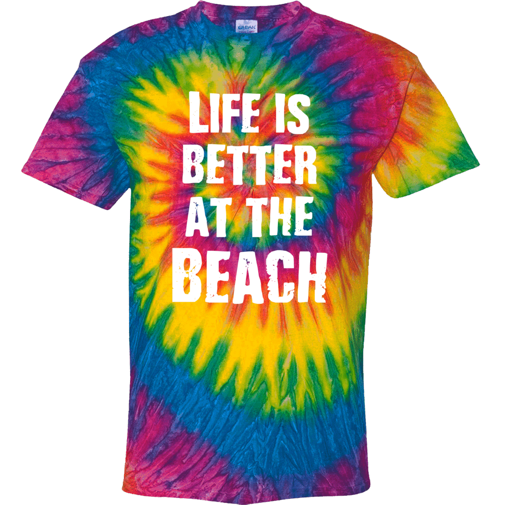 Life Is Better At The Beach  Gift Tie Dye