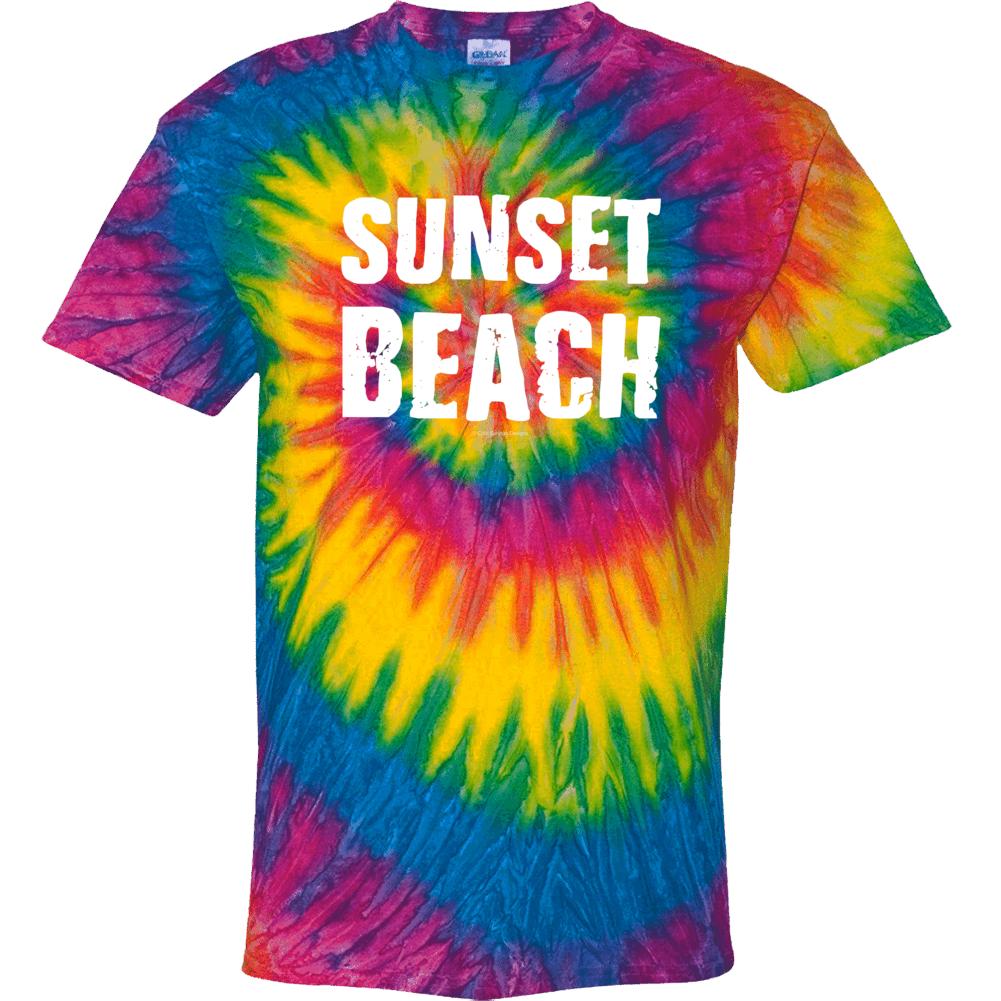Sunset Beach Tie Dye Summer Vacation Gift Tie Dye