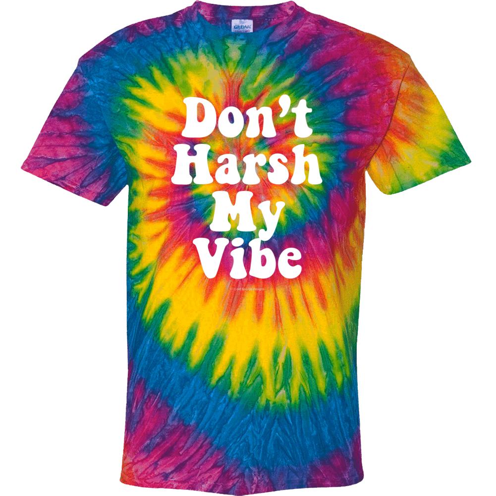 Don't Harsh My Vibe 60s Tyle Hippie Tie Dye Groovy Gift Tie Dye