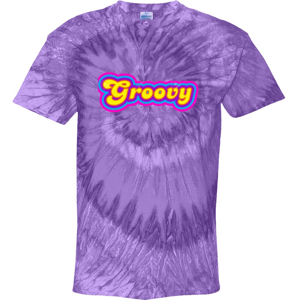 Groovy Sixties Hippir Style  Gift Tie Dye